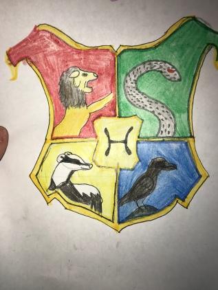 Hogwarts Crest, by Amira
